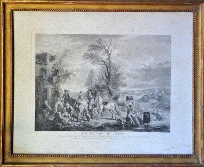 Carel VAN FALENS (1683-1733) D'après,