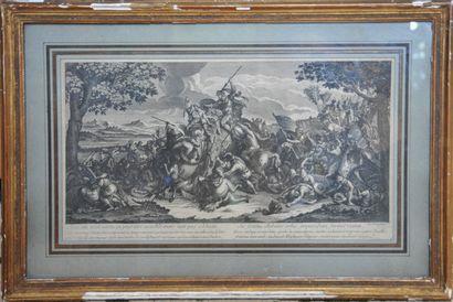 D'après Charles LE BRUN (1619-1690)  Les...