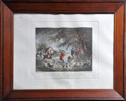 D'après G. MORLAND (Londres 1763 - id. 1806)...