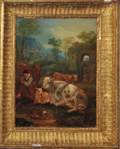 Jean-Baptiste HUET (1745-1811) Dans le goût...