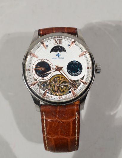 Louis COTTIER - Montre bracelet automatique...