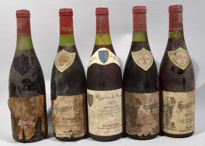 3 bouteilles de POMMARD Hospices de Beaune...