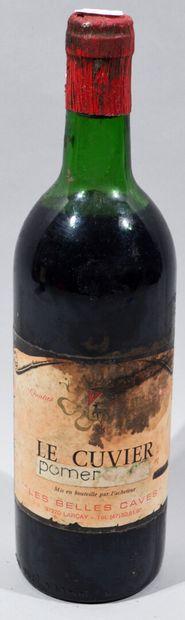 1 bouteille Le Cuvier Pomerol 1983  (niveau...