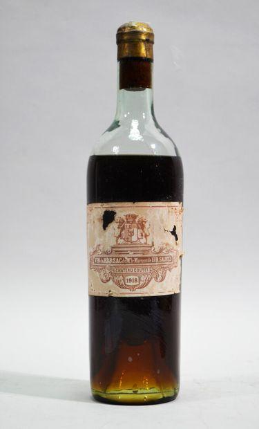 1 bouteille de CHATEAU COUTET vin de Barsac...