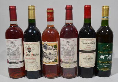 1 bouteille de CHATEAU TAYAC Bordeaux rosé...