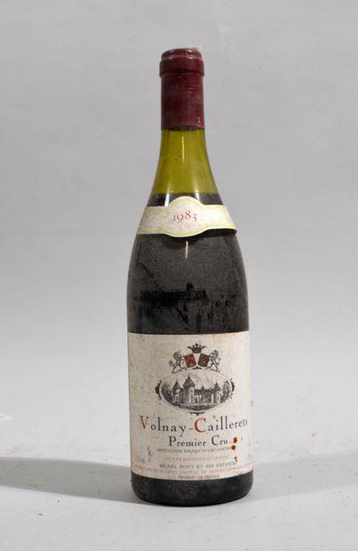 1 bouteille de Volnay Cailleret Premier Cru...