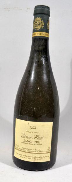 12 bouteilles de SANCERRE Etienne Henri et...
