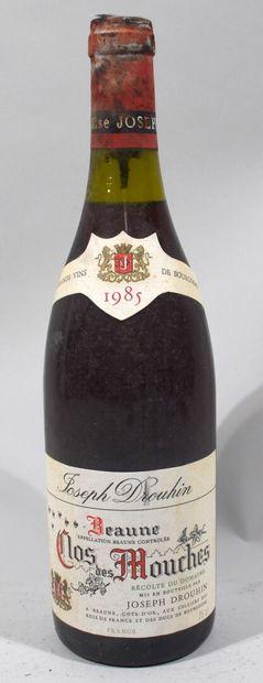 Une bouteille de Beaune Premier Cru «CLOS...