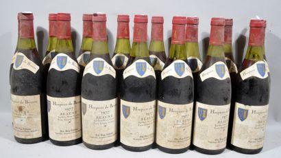 15 bouteilles de BEAUNE HOSPICES DE BEAUNE...