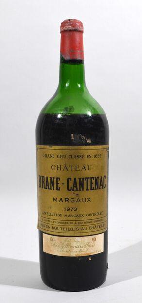 Un magnum de CHATEAU BRANE-CANTENAC Margaux...
