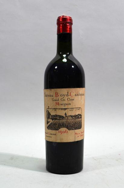 1 bouteille de Chateau Boyd Cantenac Margaux...