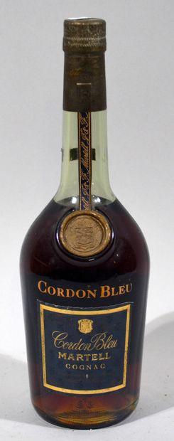 1 bouteille de cognac CORDON BLEU MARTEL