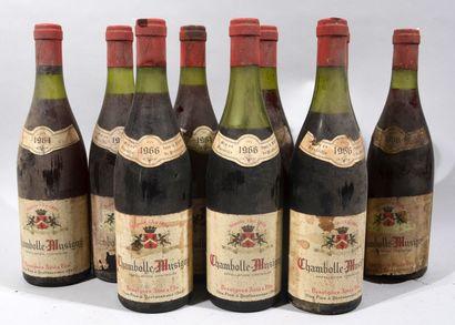 9 bouteilles de CHAMBOLLE MUSIGNY Desvignes...