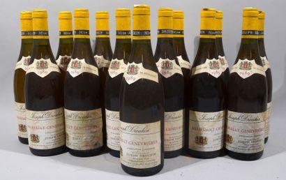 14 bouteilles de MEURSAULT blanc Premier...