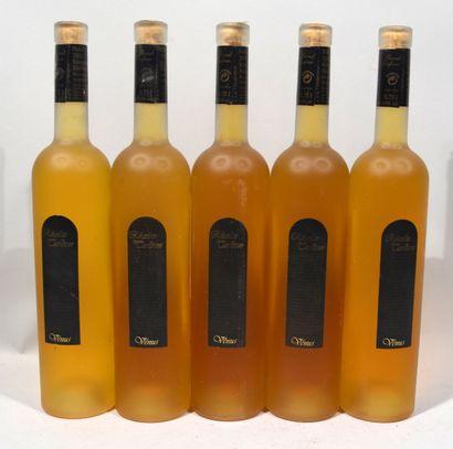 5 bouteilles de RIESLING Vénus Récolte tardive...