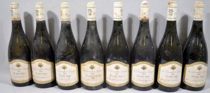 8 bouteilles de POUILLY FUME «La Demoiselle...