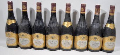 10 bouteilles de LA BOURGEOISE SANCERRE rouge...