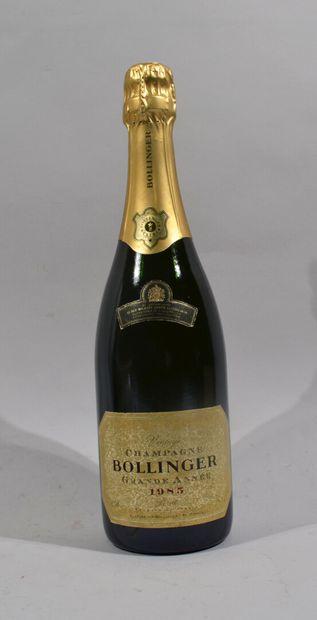 1 bouteille de champagne Bollinger Brut