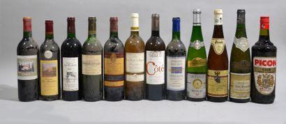 Lot comprenant: 1 bouteille de Domaine Le...