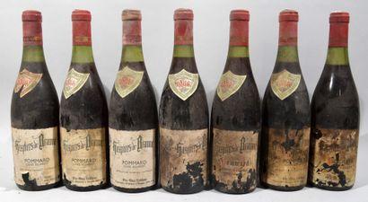 7 bouteilles de POMMARD Hospices de Beaune...