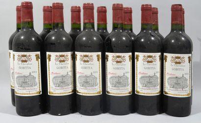 14 bouteilles de CHEVALIER GOBITTA Bordeaux...