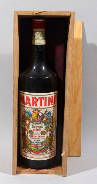 Un Magnum de MARTINI rouge (en caisse bois...