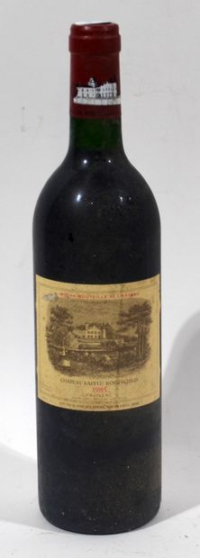 1 bouteille de CHATEAU LAFITE ROTHSCHILD...