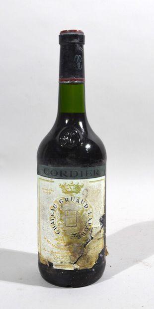 1 bouteille de CHATEAU GRUAUD-LAROSE Saint...
