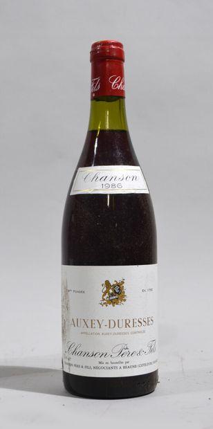 1 bouteille de AUXEY-DURESSES 1986 Chanson...