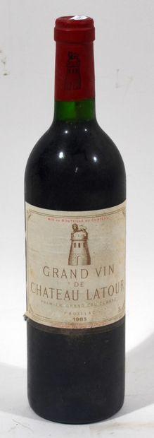1 bouteille de CHATEAU LATOUR Premier grand...