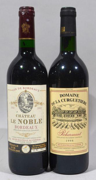 Une bouteille de DOMAINE DE LA CURGUETIERE...