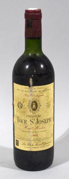 1 bouteille de CHATEAU TOUR SAINT JOSPEH...
