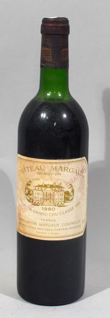 1 bouteille de CHATEAU MARGAUX premier grand...