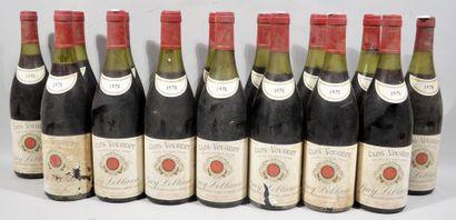 16 bouteilles de CLOS VOUGEOT Guy Leblanc...