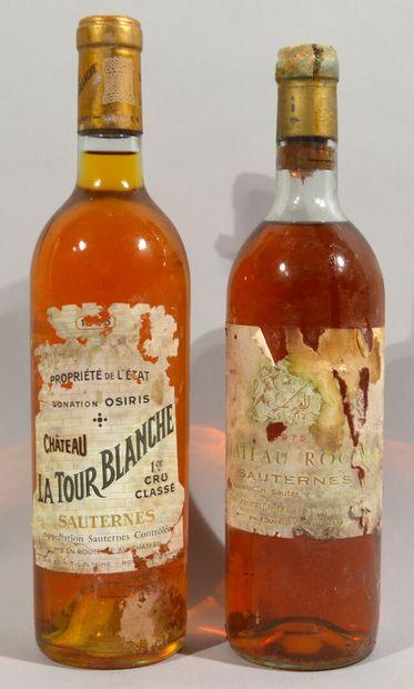 1 Bouteille Château LA TOUR BLANCHE Sauternes,...