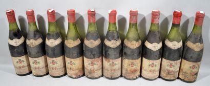 35 bouteilles de NUITS SAINT GEORGES Desvignes...