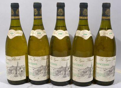 5 bouteilles de SANCERRE blanc «La Vigne...