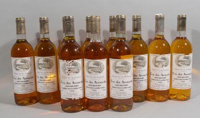 11 bouteilles de CRU DES ARROUCATS Sainte-Croix-du-Mont...