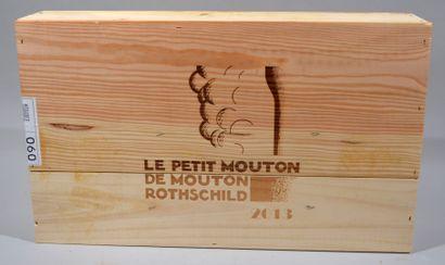 6 Bouteilles de LE PETIT MOUTON DE MOUTON...