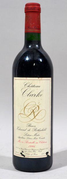 Une bouteille de CHATEAU CLARKE Baron Edmond...