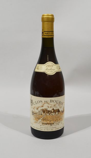 1 bouteille de Clos du Bourg Vouvray moelleux...