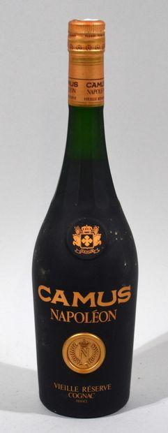1 bouteille de Cognac, Napoléon, Camus.