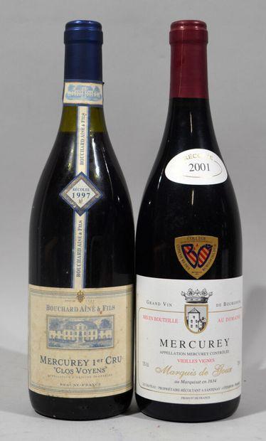 Une bouteille de MERCUREY Premier Cru