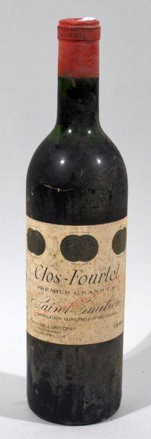1 bouteille de CLOS-FOURTET Premier cru 1964...