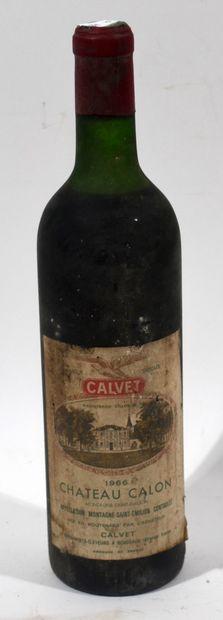 1 bouteille de CHATEAU CALON 1966 Montagne...