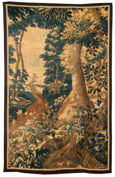 TAPISSERIE de Bruxelles. Fin XVIIe siècle,...