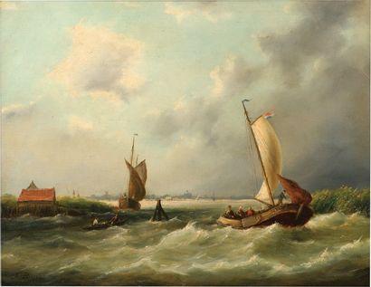 École HOLLANDAISE du XIXe siècle