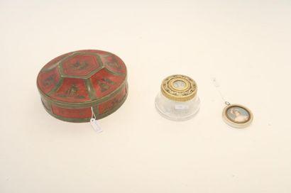 Deux belles miniatures dont une ornant une...