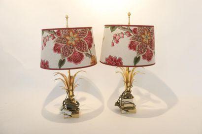 Paire de lampes de table dans le goût de...