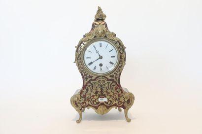 Pendule de cheminée de style Louis XV, fin...